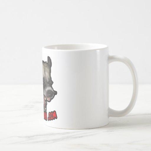 Psycho Herman .com Classic White Coffee Mug