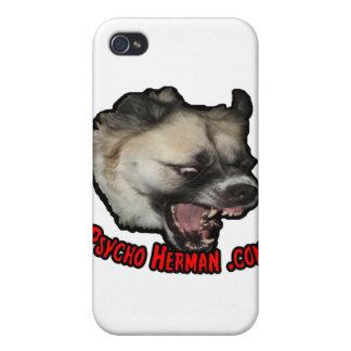 Psycho Herman .com iPhone 4/4S Cases