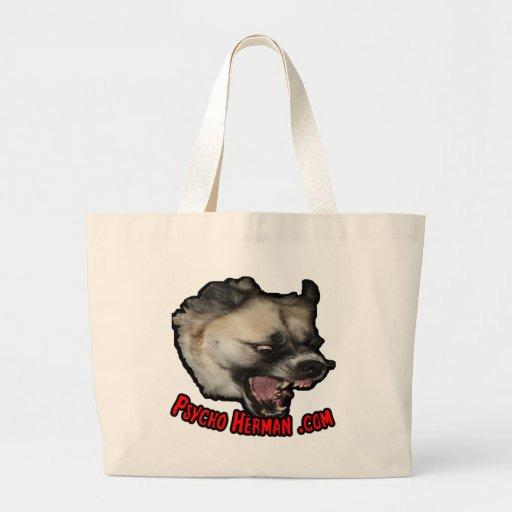 Psycho Herman .com Jumbo Tote Bag