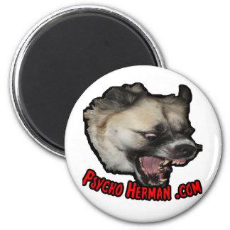 Psycho Herman .com Magnet