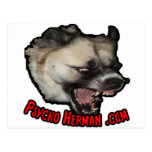 Psycho Herman .com Postcards