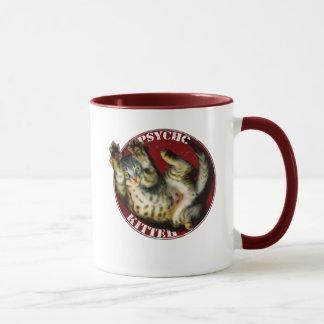 Psycho Kitteh mug
