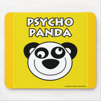 Psycho Panda Mouse Pads