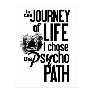Psycho Path postcard