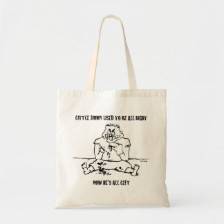 Psycho Puppet Kid Isn't All Right Tote Bag