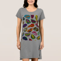 Psycho retro colorful pattern Lips Dress