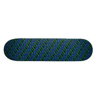 Psycho skateboard in blue green black