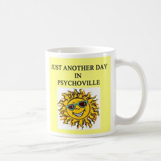 PSYCHO smiling sun, PSYCHO smiling sun Coffee Mug
