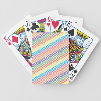 Psycho Stripes Bicycle Playing Cards
