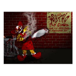 Psycho the Clown Postcard