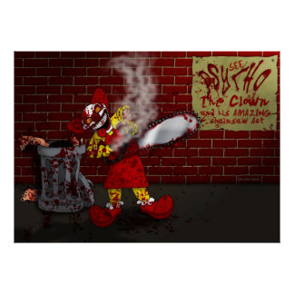 PSYCHO the Clown Poster