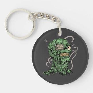 Psycho Zombie Keychain