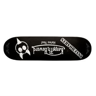 Psychoarts Kenneth Howard hates You! Deck Custom Skateboard