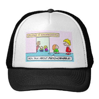 psychobabble de la escuela de la guardería gorra