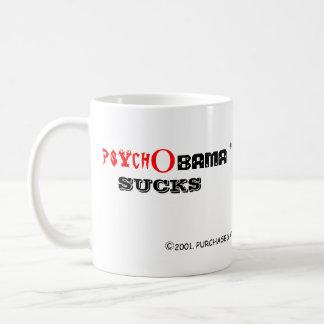PsychObama Sucks Coffee Cup Coffee Mugs