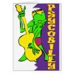 Psychobilly Greeting Card