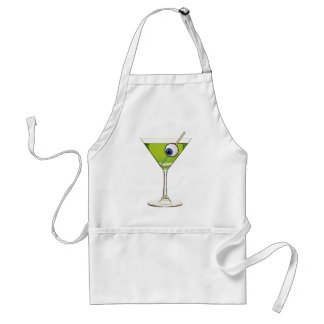 Psychobilly Martini Adult Apron