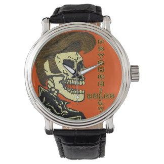 Psychobilly Rules Wrist Watch