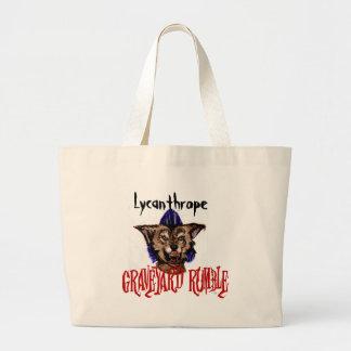 Psychobilly Werewolf Tote bag