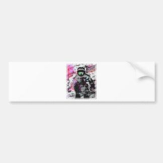 Psychodelic Adventurist Bumper Sticker