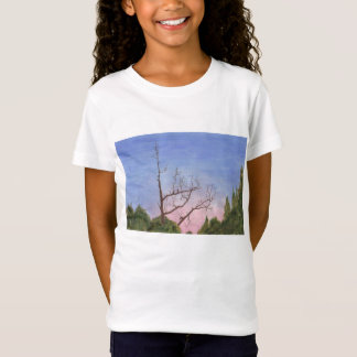 Psychodelic Tree Watercolors T-shirt