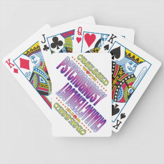 Psychognosy 2 Obsessed Bicycle Playing Cards