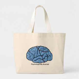 Psychologically Scarred Canvas Bag