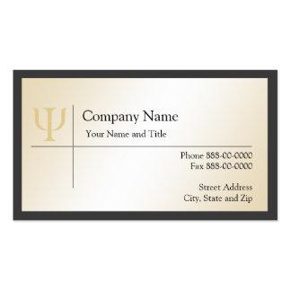 Psychologist Business Card
