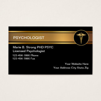 Psychologist Business Cards