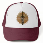 Psychologist Caduceus Trucker Hat