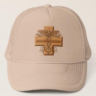 Psychologist Caduceus Trucker Hat