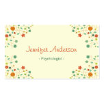 Psychologist - Chic Nature Stylish Double-Sided Standard Business Cards (Pack Of 100)