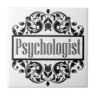 Psychologist Damask Tile