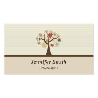 Psychologist - Elegant Natural Theme Business Card