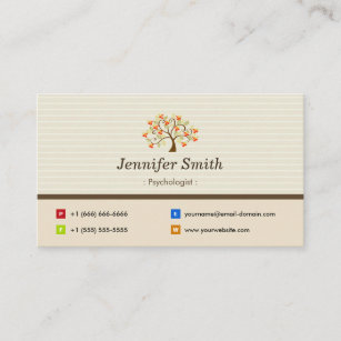 Psychology Business Cards Business Card Printing Zazzle