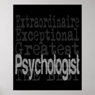 Psychologist Extraordinaire Poster