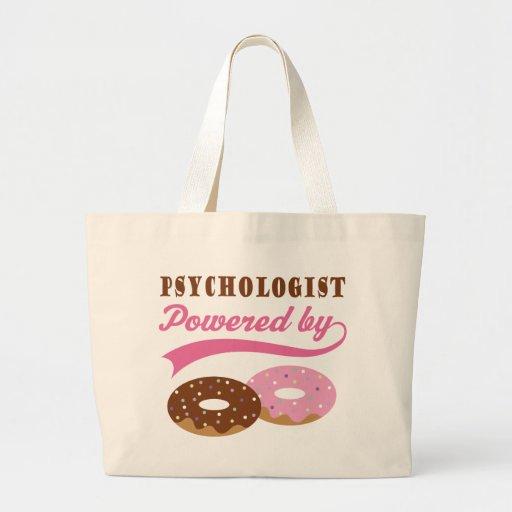 Psychologist Gift (Donuts) Canvas Bag