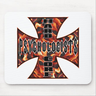 Psychologist Hard Core Mouse Pad