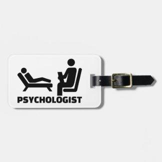 Psychologist Luggage Tag