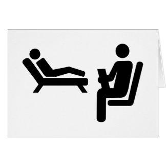Psychologist patient card
