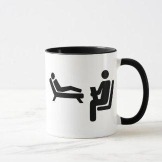Psychologist patient mug