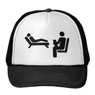 Psychologist patient trucker hat