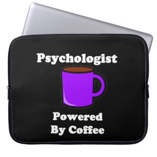 """""""Psychologist"""" Powered by Coffee Laptop Sleeve"""