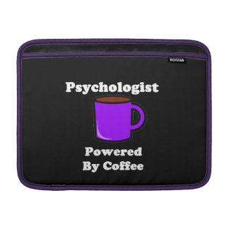 """Psychologist"" Powered by Coffee MacBook Sleeve"