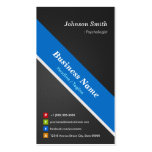 Psychologist - Premium Double Sided Business Cards