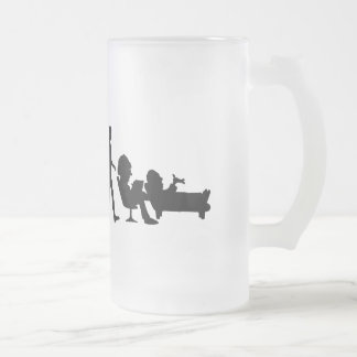 Psychologist Psychiatrist Therapists Gifts Frosted Glass Beer Mug