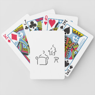 psychologist psychotherapeut psychotherapie bicycle playing cards