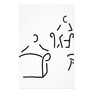 psychologist psychotherapeut psychotherapie stationery