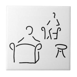 psychologist psychotherapeutin psychotherapie ceramic tile