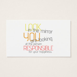 Psychologist Responsible For Happiness Phrase Card